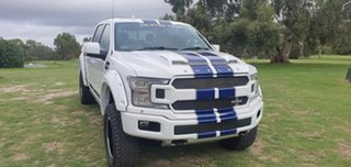 2018 Ford F150 (No Series) Shelby White Automatic Utility