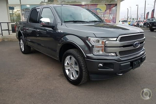 Used Ford F150  Platinum, 2019 Ford F150 (No Series) Platinum Grey Automatic