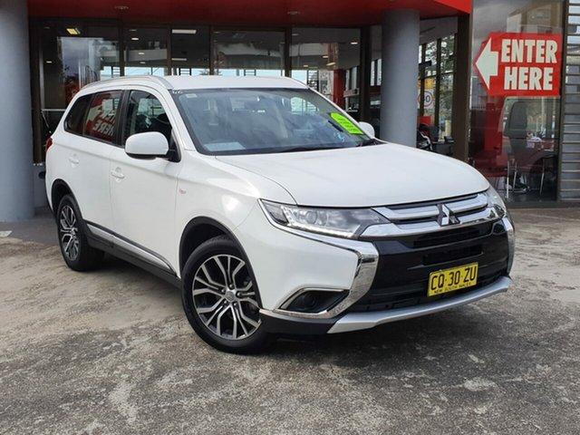 Used Mitsubishi Outlander ZL MY18.5 ES AWD, 2018 Mitsubishi Outlander ZL MY18.5 ES AWD White 6 Speed Constant Variable Wagon