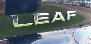 2020 Nissan Leaf ZE1 Arctic White 1 Speed Reduction Gear Hatchback