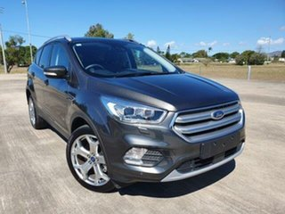 2018 Ford Escape ZG 2019.25MY Titanium Magnetic 6 Speed Sports Automatic Dual Clutch SUV.