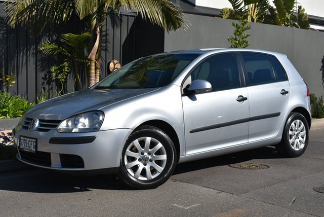 Used Volkswagen Golf V Comfortline Tiptronic, 2005 Volkswagen Golf V Comfortline Tiptronic Silver 6 Speed Sports Automatic Hatchback