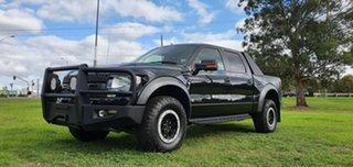 2013 Ford F150 (No Series) SVT Raptor Black Automatic Utility.