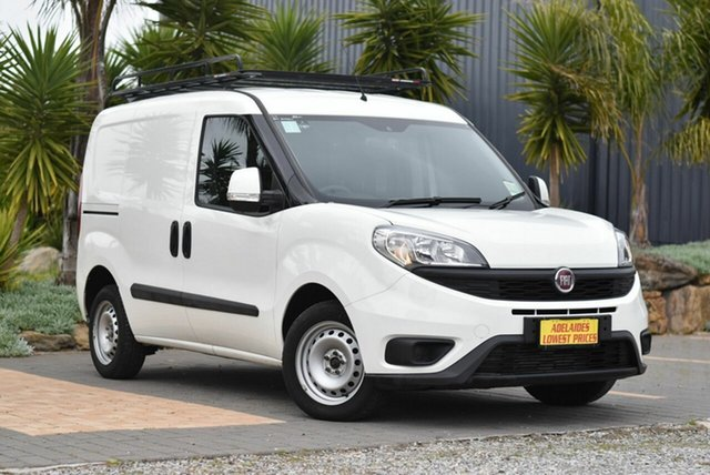 Used Fiat Doblo 263 Series 1 Low Roof SWB Comfort-matic Cheltenham, 2017 Fiat Doblo 263 Series 1 Low Roof SWB Comfort-matic White 5 Speed Sports Automatic Single Clutch