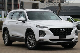 2018 Hyundai Santa Fe DM4 MY18 Active White Cream Automatic Wagon.