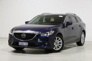 2013 Mazda 6 6C Touring Blue 6 Speed Automatic Wagon.