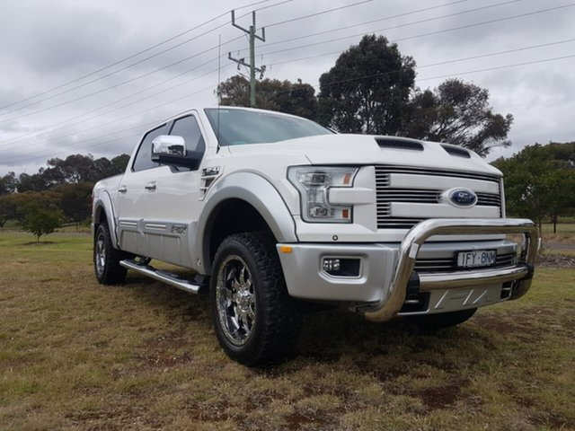 Used Ford F150  , 2016 Ford F150 (No Series) Lariat White Automatic