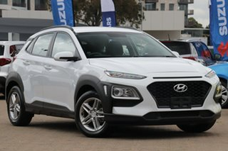2019 Hyundai Kona OS.2 MY19 Active (FWD) Chalk White 6 Speed Automatic Wagon.