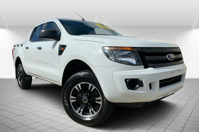 Used Ford Ranger PX XL, 2014 Ford Ranger PX XL White 6 Speed Sports Automatic Utility