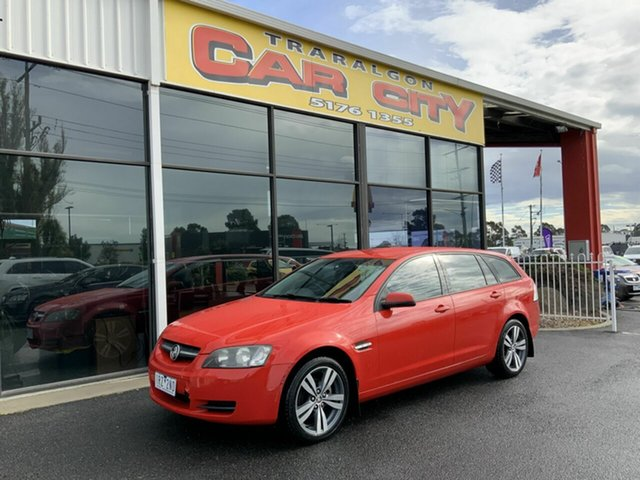 Used Holden Commodore VE MY08 Omega, 2008 Holden Commodore VE MY08 Omega Red 4 Speed Automatic Sedan