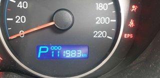 2011 Hyundai i20 PB MY11 Elite Metallic Silver 4 Speed Automatic Hatchback