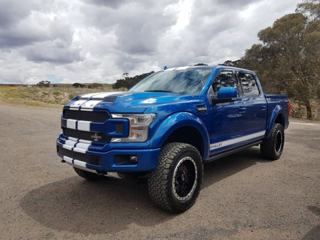 Used Ford F150  , 2018 Ford F150 (No Series) Shelby Blue Automatic