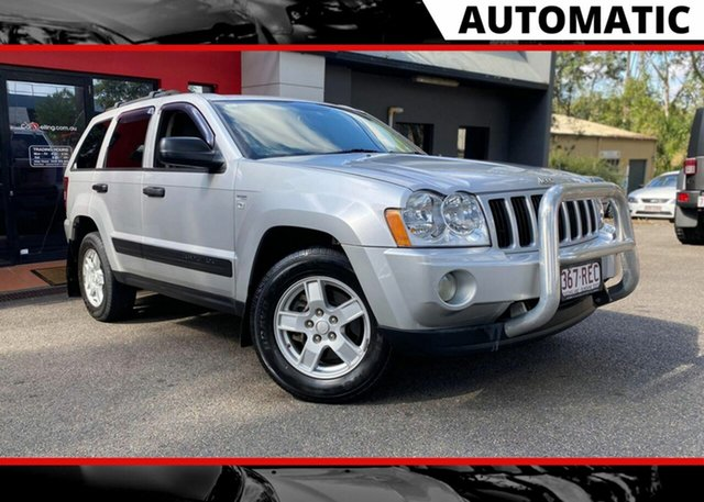 Used Jeep Grand Cherokee WH MY2007 Limited, 2007 Jeep Grand Cherokee WH MY2007 Limited Metallic Silver 5 Speed Automatic Wagon