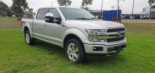 Used Ford F150 Platinum Melton, 2019 Ford F150 (No Series) Platinum Silver Automatic Utility