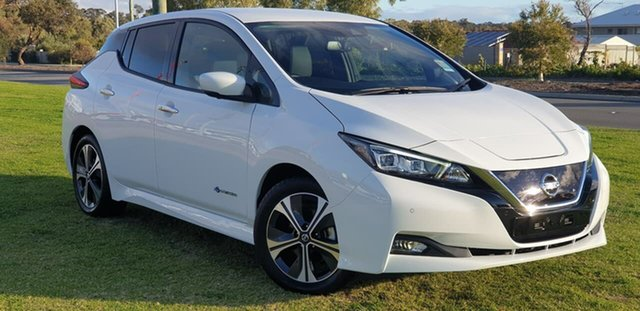 Demo Nissan Leaf ZE1 , 2020 Nissan Leaf ZE1 Arctic White 1 Speed Reduction Gear Hatchback