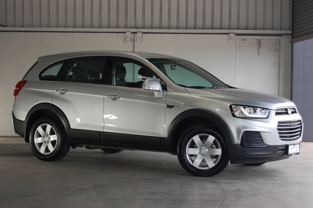 Used Holden Captiva CG MY17 LS 2WD, 2017 Holden Captiva CG MY17 LS 2WD Silver 6 Speed Sports Automatic Wagon