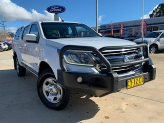 2016 Holden Colorado RG MY17 LS White 6 Speed Sports Automatic Dual Cab Utility.