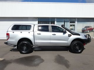 2017 Ford Ranger PX MkII XLS Double Cab Silver 6 Speed Sports Automatic Utility