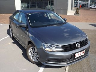 2017 Volkswagen Jetta 1B MY17 118TSI DSG Trendline Grey 7 Speed Sports Automatic Dual Clutch Sedan.
