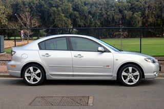 2005 Mazda 3 BK SP23 Silver 5 Speed Manual Sedan.