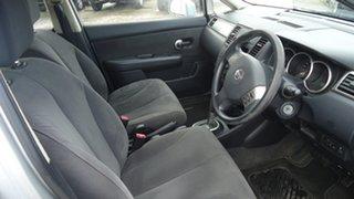 2008 Nissan Tiida C11 MY07 ST-L Silver 4 Speed Automatic Sedan
