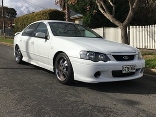 2004 Ford Falcon BA Futura White 4 Speed Sports Automatic Sedan.