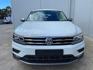 2019 Volkswagen Tiguan 5N MY19.5 110TSI Comfortline DSG 2WD Allspace Pure White 6 Speed.
