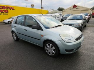 2004 Ford Fiesta WP LX Green 4 Speed Automatic Hatchback.
