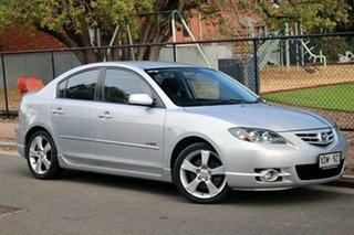 2005 Mazda 3 BK SP23 Silver 5 Speed Manual Sedan