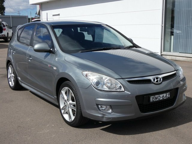 Used Hyundai i30 FD MY09 SR, 2009 Hyundai i30 FD MY09 SR Silver 5 Speed Manual Hatchback