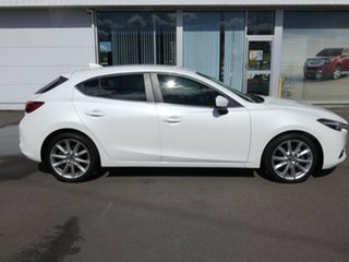 2017 Mazda 3 BN5438 SP25 SKYACTIV-Drive GT White 6 Speed Sports Automatic Hatchback