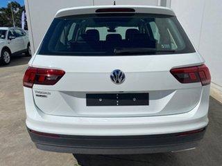 2019 Volkswagen Tiguan 5N MY19.5 110TSI Comfortline DSG 2WD Allspace Pure White 6 Speed