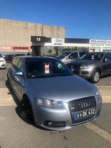 Used Audi A3 8P MY06 Upgrade Sportback 3.2 Quattro Ambition, 2008 Audi A3 8P MY06 Upgrade Sportback 3.2 Quattro Ambition Abarth Grey 6 Speed Direct Shift