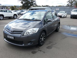 2010 Toyota Corolla ZRE152R MY11 Ascent Grey 4 Speed Automatic Hatchback.