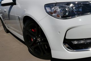 2016 Holden Commodore VF II SS-V Redline White 6 Speed Manual Sedan.