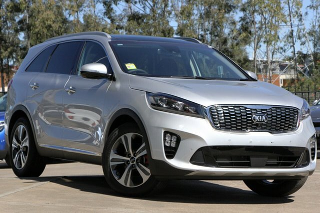 Demo Kia Sorento UM MY19 GT-Line Bundamba, 2019 Kia Sorento UM MY19 GT-Line Silky Silver 8 Speed Sports Automatic Wagon