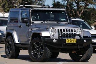 2014 Jeep Wrangler JK MY15 OVERLAND (4X4) JK MY15 HARDTOP Silver Automatic Wagon.