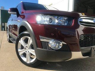 2012 Holden Captiva CG Series II 7 AWD LX Maroon 6 Speed Sports Automatic Wagon.
