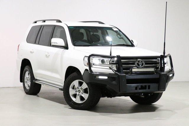 Used Toyota Landcruiser VDJ200R MY16 GXL (4x4), 2017 Toyota Landcruiser VDJ200R MY16 GXL (4x4) White 6 Speed Automatic Wagon