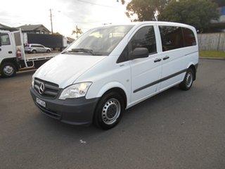 2013 Mercedes-Benz Vito MY13 113CDI SWB White 5 Speed Automatic Van.