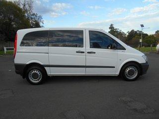 2013 Mercedes-Benz Vito MY13 113CDI SWB White 5 Speed Automatic Van