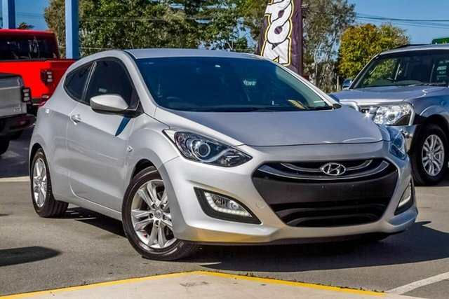 Used Hyundai i30 GD SE Coupe, 2013 Hyundai i30 GD SE Coupe Silver, Chrome 6 Speed Manual Hatchback