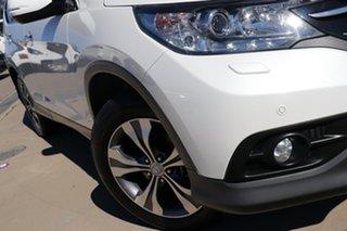 2014 Honda CR-V VTi_L 30 MY15 CR-V VTi-L (4x4)30 MY15 White Automatic Wagon.