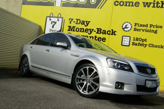 Used Holden Caprice WN II MY16 V, 2015 Holden Caprice WN II MY16 V Silver 6 Speed Sports Automatic Sedan