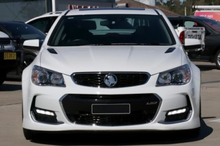 2016 Holden Commodore VF II SS-V Redline White 6 Speed Manual Sedan