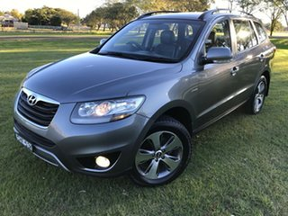 2012 Hyundai Santa Fe CM MY12 Highlander Grey 6 Speed Sports Automatic Wagon.