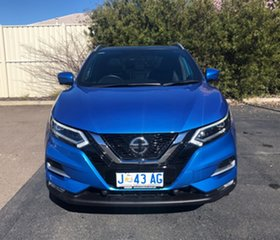 2018 Nissan Qashqai J11 Series 2 Ti X-tronic Vivid Blue 1 Speed Constant Variable Wagon.