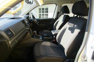2018 Volkswagen Amarok 2H MY19 TDI420 4MOTION Perm Core Plus White 8 Speed Automatic Utility