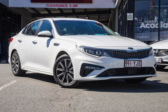 Used Kia Optima JF MY18 SI, 2018 Kia Optima JF MY18 SI White 6 Speed Sports Automatic Sedan