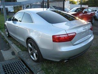 2008 Audi A5 8T 3.2 FSI Quattro Silver 6 Speed Tiptronic Coupe